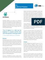 Petronas OSI Soft PI ; A case Study