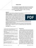 The association between orthodontic treatment with removal of premolars.pdf
