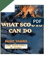Lo Que Pueden Hacer Los Scouts