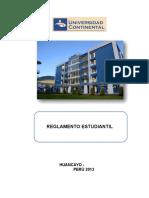 Reglamento Estudiantil Con Aprobacion Rectoral 2015