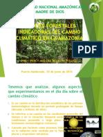 Especies Indicadoras en La Amazonia