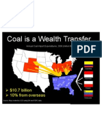 Coal Is A Wealth Transfer