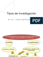 Tipos Investigacion