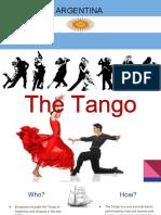 dance 1010- argentina powerpoint