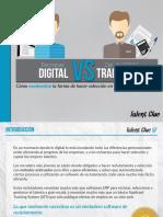 Recruiter Digital vs Director de RRHH Tradicional