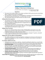 Offshore Drilling Fact Sheet