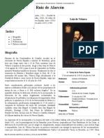 Luis de Velasco y Ruiz de Alarcón - Wikipedia, La Enciclopedia Libre