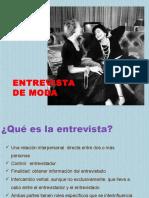 La Entrevista MODA