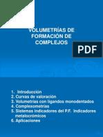 Volumetria de Formacion de Complejos2010
