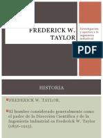 Frederick Wislow Taylor