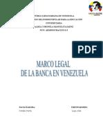 Marco Legal de Banca en Venezuela