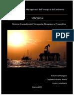 Il Sistema Energetico Del Venezuela Situazione e Prospettive[1]