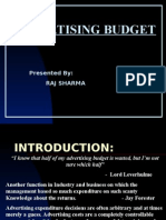Adv Budget