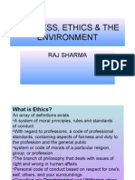 Business Ethics Environment