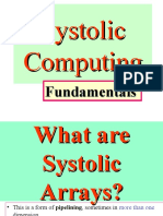 Lecture006. Introduction Systolic array