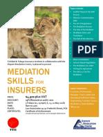 Mediation Skills for Insurers