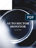 Automotive Sector Monitor - 2016 Q2 Issue