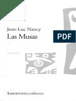 Nancy, J L - Las musas