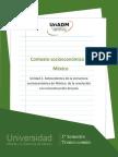 Antecedentes de la estructura socioeconomica de Mexico de la Revolucion a la reconstruccion del pais