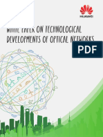 White Paper on Technological Developments of Optical Networks