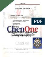 ChenOne report