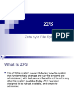 Zfs Introduction