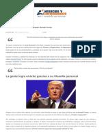 Los 10 Mandamientos Del Éxito Según Donald Trump MB !!!