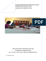 Laporan Sosialisasi Pendataan Peserta Kb Aktif Perposyandu Tahun 2016