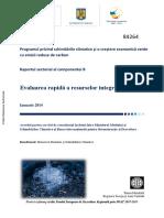OPERA-CLIMA B Evaluare Sectoriala Apa_RO