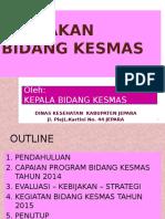 Evaluasi Kabid Kesmas Desember 2014