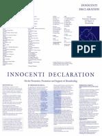 Innocenti Declaration 1990