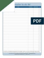 Calendar to Do Master