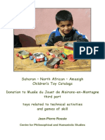 Saharan – North-African – Amazigh Children's Toy Catalogs