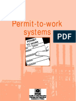 Permit to Work Systems