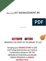 Account Management (Activation - Cont)