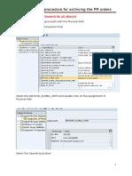 SPRL_Archiving Procedure Document_PM Orders