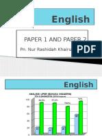 English UPSR 2015