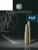 RWS Rifle Cartridge Broschure