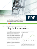 Illiquid instruments