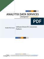 Software Driven ETL Conversion Platform