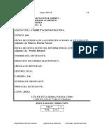 Trabajo práctico, enunciado, Universidad Nacional Abierta (Venezuela), Computación Evolutiva (350), 2016-1