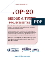 Top-20 Bridge Tunnel Projects Report