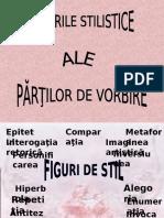 Valori stilistice ale partilor de vorbire