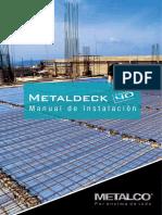 Manual Instalacion Metaldeck