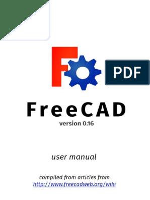 FreeCAD Manual 0 16 | Cartesian Coordinate System | Computing
