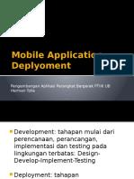 PAPB 11 Mobile Application Deployment