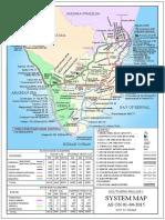 Railway Division Map