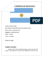 Country Profile of Argentina