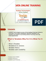 teradata online course training in japan