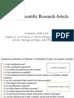Writing Scientific Research Article_Presentation